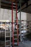 Louisville 22' fiberglass extension ladder