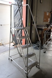 Cotterman 300 pound portable warehouse steps
