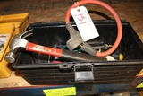 Tool box with misc. tools