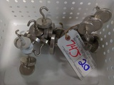 All to go - 20 heavy duty magnetic hanging hooks