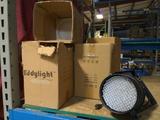 Times 6 - Eddylight Par-64 LED stage lights