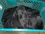 All to go - Black satin chair covers approx 25