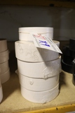 All to go - 9 rolls of new white duct tape