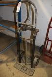 2 and 4 wheel horizontal/vertical warehouse cart