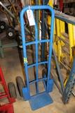 Blue 2 wheel hand cart