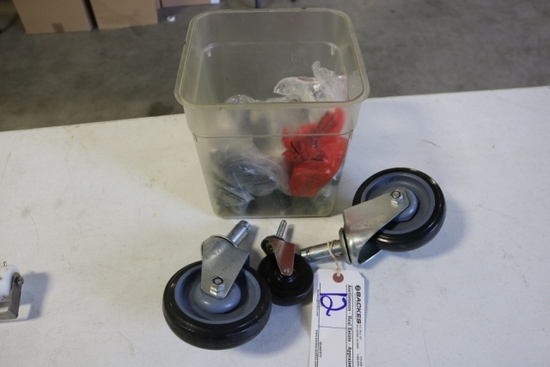 All to go - Misc. sized equipment casters