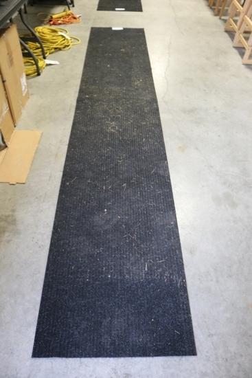 "26"" x 12' Black entrance mat"