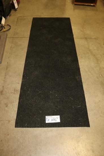 "26"" x 6' Black entrance mat"