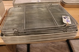 Times 8 - aluminum sheet pans with cooling screens