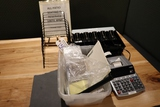 All to go - office related - cash drawers - Canon desk calculator