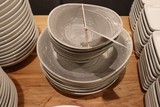 All to go - gray dishes