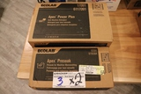 Times 2 - boxes of Eco Lab Apex Power Plus detergent and pre soak