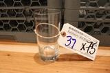 Times 75 - high ball glasses with 3 glass racks