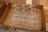 All to go - 13 - 1/3 size acrylic pan risers