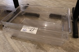 Times 2 - 18 x 26 x 8 food storage containers - no lids