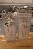 Times 11 - 8 qt food storage containers - no lids