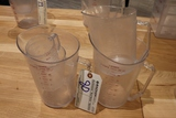 All to go - 4 acrylic measure cups
