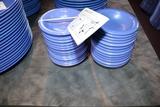 Times 27 - Blue melamine veggie dishes