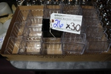 Times 30 - Acrylic sugar packet holders - 1 is black