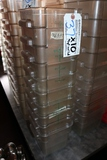 Times 10 - 4 quart food storage containers with lids