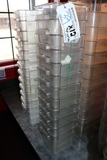 Times 12 - 4 quart food storage containers with lids