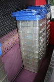 Times 7 - 18 quart food storage containers with lids