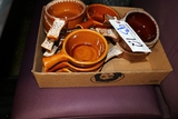 All to go - Brown soup bowls