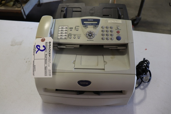 Brother IntelliFAX 2820 fax machine