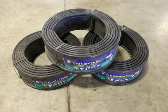 "Times 3 - Rolls of 5"" edging"