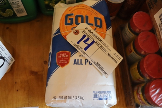 New 10 lb. bag of Gold Medal flour