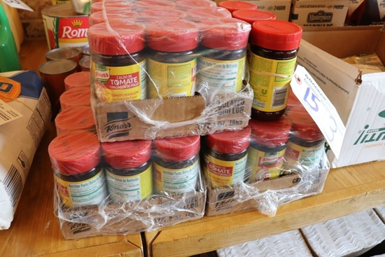 Times 3 - Cases of Knorr Tomato bouillon