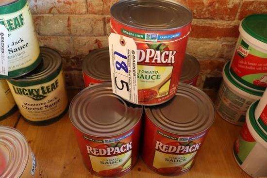 Times 5 - Red Pack tomato sauce & salsa de tomato