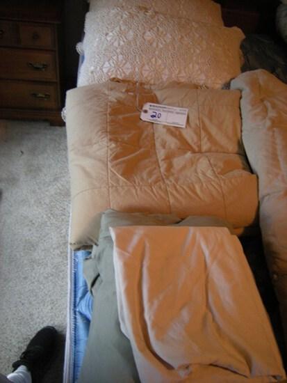 Decorative Pillows, Sheets, King blanket