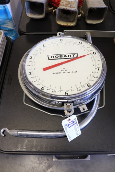 Hobart 30 lb. produce scale