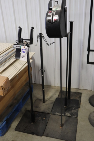 All to go - 5 produce bag dispenser stands