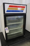 True GDM-05 glass 1 door counter top cooler