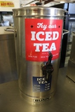 Bunn stainless iced tea dispenser