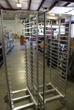 Times 2 - Prairie View Industries portable sheet pan racks - very nice
