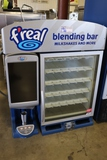 F-Real malt mixer with F'Real 11-CSGF-X1-FR glass 1 door freezer