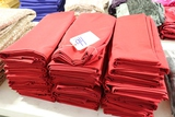 All to go - Red table linens