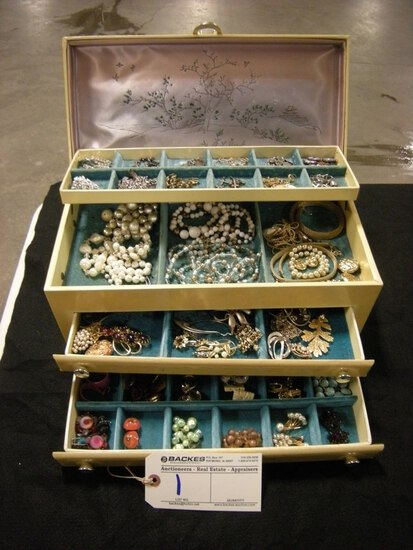 All to go - Jewelry Box and Contents