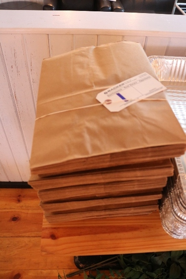All to go - #24 brown paper bags