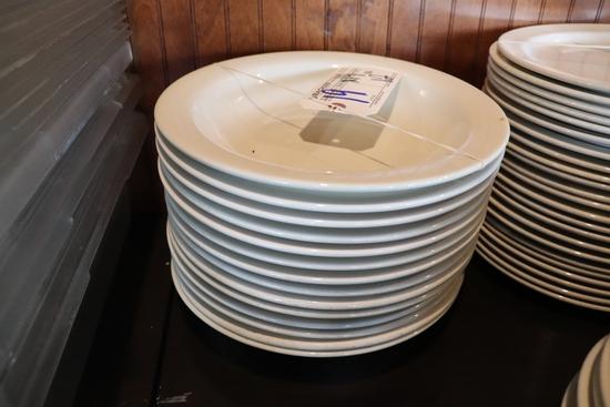 """Times 14 - 12"""" white soup/past bowls"""