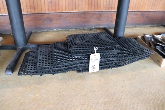 All to go - black bar matting