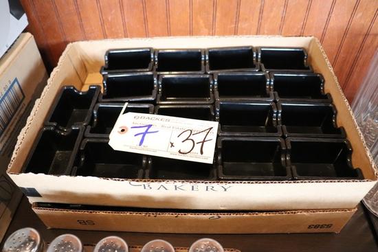 Times 37 - Black sugar packet holders