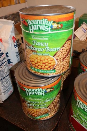 Times 3 - Bountiful Harvest fancy garbanzo beans