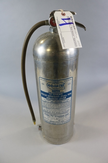 General stainless water fire extinguisher