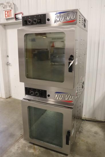 2019 NU VU baking oven - model RM-5T - serial #447830000219 - 3 phase - por