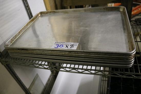 Times 8 - Aluminum full size sheet pans
