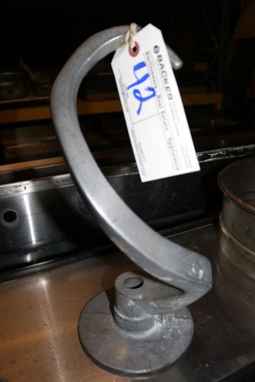 Univex 30 Quart dough arm